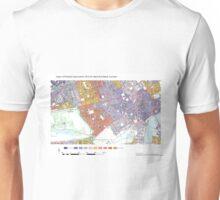 Multiple Deprivation West End ward, Camden Unisex T-Shirt