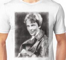 Amelia Earhart, Aviator Unisex T-Shirt