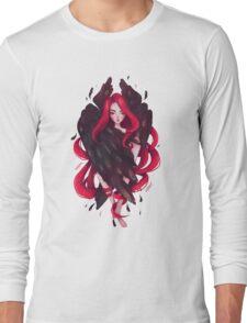 Black Wings Long Sleeve T-Shirt