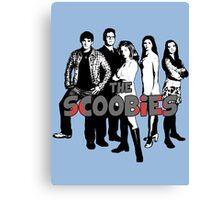 BTVS CAST (S1): The Scoobies! Canvas Print