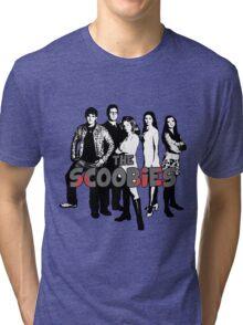 BTVS CAST (S1): The Scoobies! Tri-blend T-Shirt