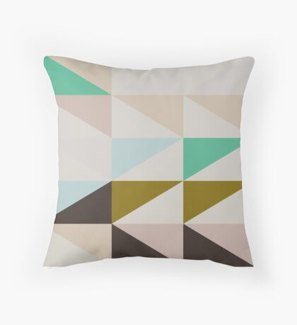 The Nordic Way II Throw Pillow