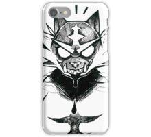 Inktober 21 - Dark Fire iPhone Case/Skin