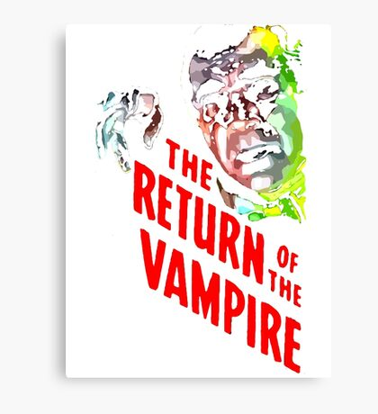 return of the vampire Canvas Print
