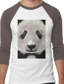 Panda Bear Men's Baseball ¾ T-Shirt