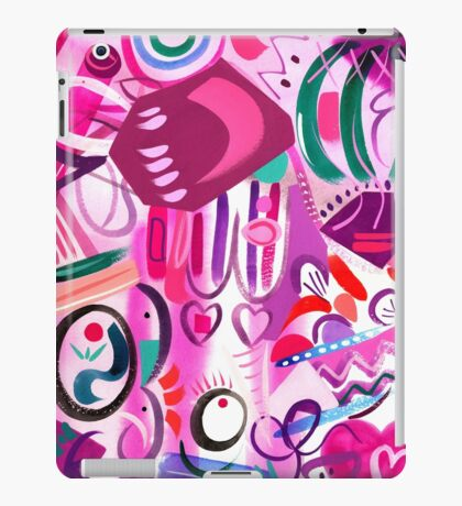 Pink Interior lll iPad Case/Skin
