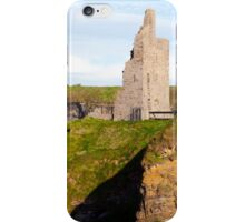 castle beach and cliffs in Ballybunion  iPhone Case/Skin