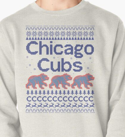 Chicago Cubs - Ugly Christmas Sweater Pullover