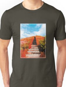 Every Journey Begins With a Single Step Unisex T-Shirt