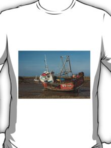 Whitby Crest at Brancaster Staithe T-Shirt