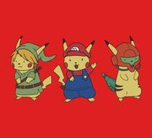 Nintendo Pikachus Kids Tee