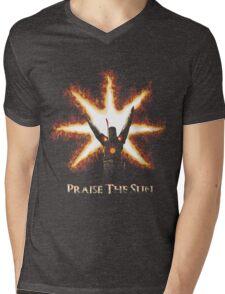 Warrior of the Sun! Mens V-Neck T-Shirt