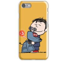 Happiness is a warm puppy iPhone Case/Skin
