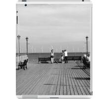 Pier End View, Skegness iPad Case/Skin
