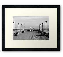 Pier End View, Skegness Framed Print