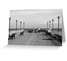Pier End View, Skegness Greeting Card