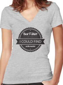Best T-Shirt On The Market Women's Fitted V-Neck T-Shirt