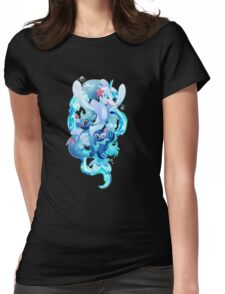 Popplio, Brionne and Primarina Womens Fitted T-Shirt