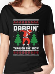 Dabbin Through The Snow Women's Relaxed Fit T-Shirt