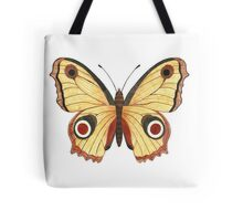 Juno Butterfly Watercolor Illustration Tote Bag