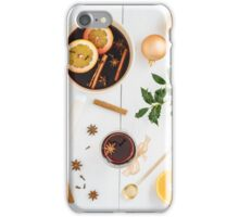 Mulled wine iPhone Case/Skin