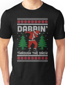 Dabbin Through The Snow Shirt Unisex T-Shirt