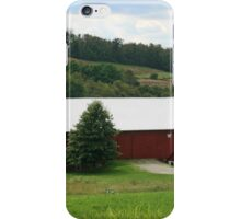 Red Barn Rural PA iPhone Case/Skin