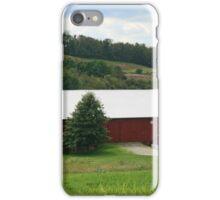 Red Barn Rural PA iPhone Case/Skin