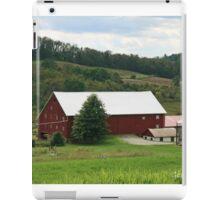 Red Barn Rural PA iPad Case/Skin