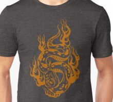 Slithering snake -orange Unisex T-Shirt