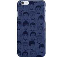 Star Trek Original Characters blue iPhone Case/Skin