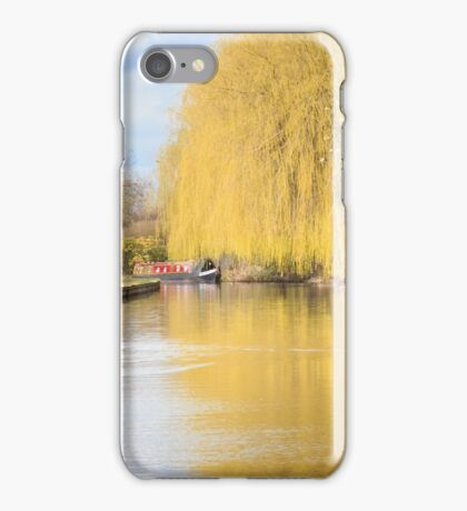 Willow on the Canal iPhone Case/Skin