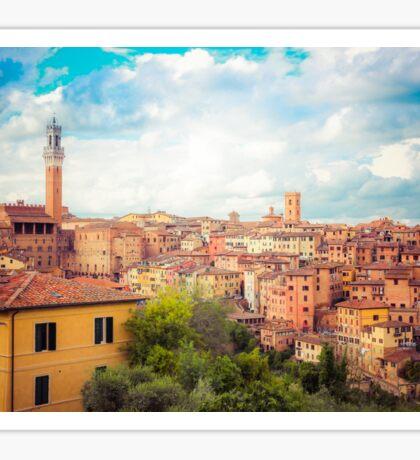 Siena, Tuscany, Italy Sticker