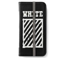 Off-White Brushed Diagonals v1 iPhone Wallet/Case/Skin