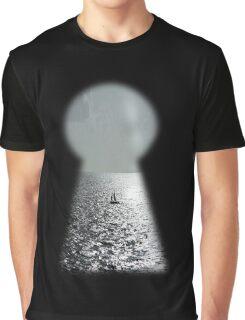 I saw freedom through a lock Graphic T-Shirt
