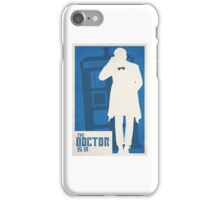 Matt Smith Doctor who  iPhone Case/Skin
