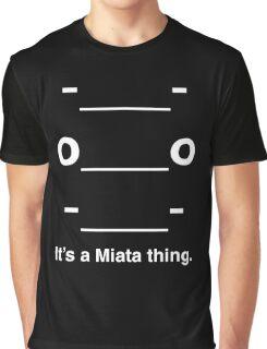 Miata Emoji Graphic T-Shirt