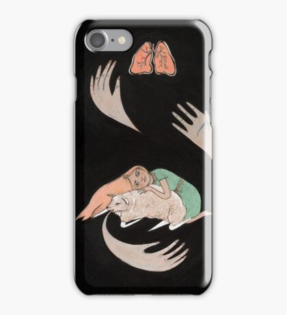 Purity Ring Shrines logo iPhone Case/Skin
