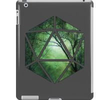 d20 forest - green iPad Case/Skin