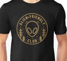Alien Friendly Club Unisex T-Shirt