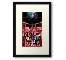 The Six Paths of Harmony Framed Print