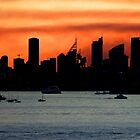 Sydney post sunset glow! by jozi1