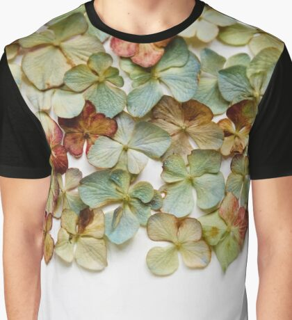 Hydrangea Petals no. 1 Graphic T-Shirt
