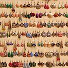 Many little ear rings - spoilt for choice! by Marjolein Katsma