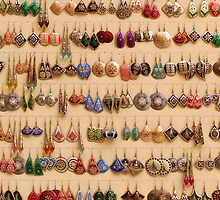 Many little ear rings - spoilt for choice! by Marjolein Katsma