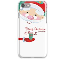 MERRY CHRISTMAS AND HAPPY HOLIDAY iPhone Case/Skin