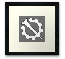 Hello Internet Flag - Nail and Gear Framed Print
