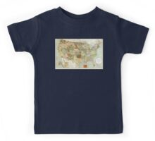 United States - Indian reservations - 1892 Kids Tee