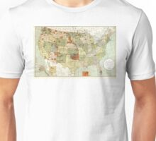 United States - Indian reservations - 1892 Unisex T-Shirt