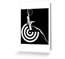 Disabled Shooters - White Greeting Card